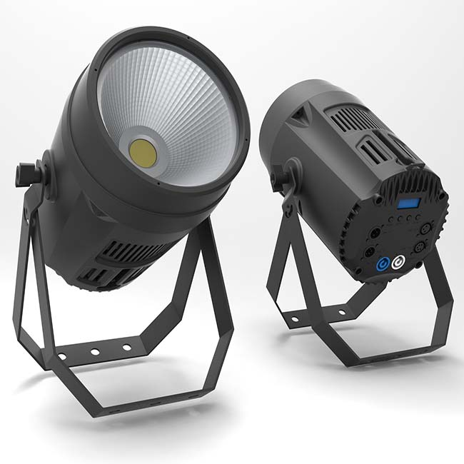200w 4in1 rgbw dmx cob led par stage light TPL-125