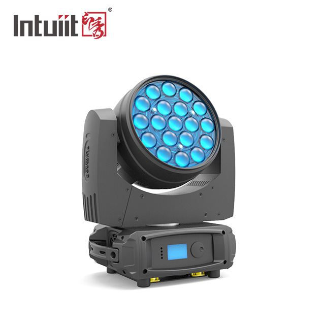 19×15W OSRAM RGBW 4 In 1 LED Zoom Moving Head Light │ XY-019A